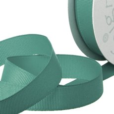 Grosgrain Ribbons - Ribbon Plain Grosgrain Teal (25mmx20m)