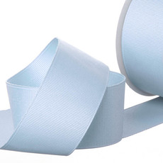 Grosgrain Ribbons - Ribbon Plain Grosgrain Baby Blue (38mmx20m)