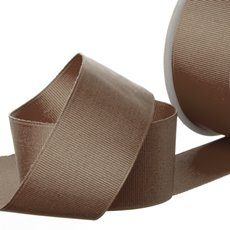 Grosgrain Ribbons - Ribbon Plain Grosgrain Chocolate (38mmx20m)