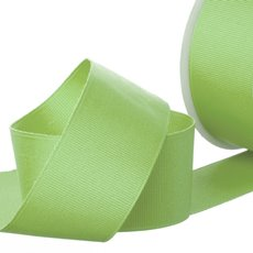 Grosgrain Ribbons - Ribbon Plain Grosgrain Lime (38mmx20m)