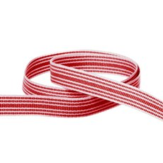 Grosgrain Multi Stripes Ribbon Red (10mmx20m)