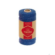 Cotton Twine 12ply 1.2mm X 100m Navy