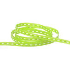 Taffeta Central Stitch Ribbon Lime (3mmx20m)