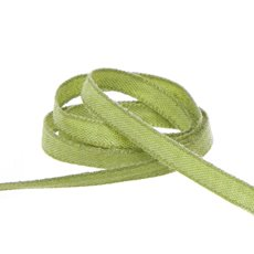 Cotton & Linen Ribbons - Coloured Cotton Ribbon Moss (5mmx20m)