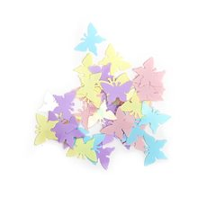 Confetti Pastel Butterfly 25g Multi Colours