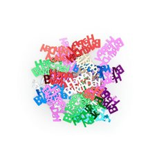Confetti Happy Birthday 15g Multi Colours