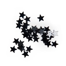 Confetti Star Regular 10mm 14g Black