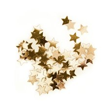 Confetti Star Regular 10mm 14g Gold