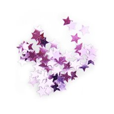 Confetti Star Regular 10mm 25g Light Pink