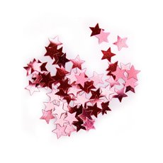 Confetti Star Red Regular 10mm 15g Bag