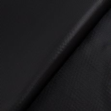 Party Tablecloths & Napkins - Deluxe Plastic Tablecover Rectangle Black (137x274cm)