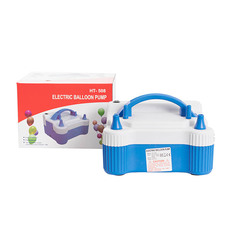 Balloon Pump 220V Blue (17x14.8x17cm)
