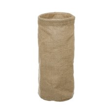 Natural Jute Pot Cover With Plastic Liner (11Dx25cmH)