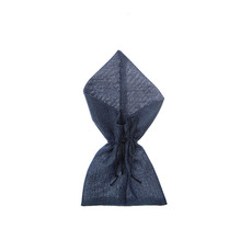 Jute Pouches - Jute Envelope Large Pouch Navy (12x23cmH) Pack 10