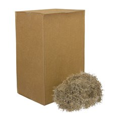 Spanish Moss - Spanish Moss Preserved Bulk Natural (4.55kg Box)