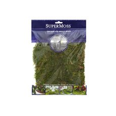 Natural Moss - Sheet Moss Preserved Dark Green (55gm)