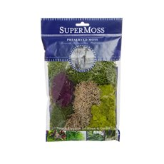 Reindeer Moss - Moss Mix Preserved Bag Moss Assorted Best Sellers (55gm 2oz)