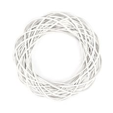 Wreath Willow White (35cm)