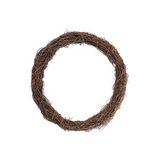 Natural Wreaths - Wreath Grapevine and Twig Mix Natural (30cmD)