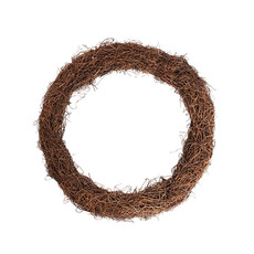 Natural Wreaths - Wreath Grapevine and Twig Mix Natural (40cmD)