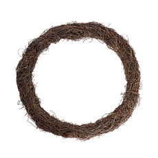 Natural Wreaths - Wreath Grapevine and Twig Mix Natural (54cmD)