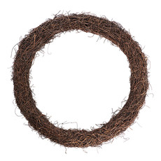 Natural Wreaths - Wreath Grapevine and Twig Mix Natural (68cmD)