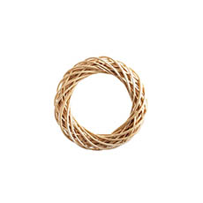 Natural Wreaths - Willow Wreath Natural (30cmD)