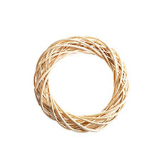 Natural Wreaths - Willow Wreath Natural (40cmD)