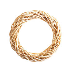 Natural Wreaths - Willow Wreath Natural (50cmD)
