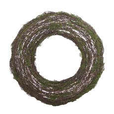 Artificial Moss Wreath (38cmDx6cmH)