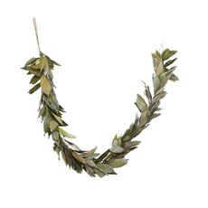 Natural Leaf Garland Sage (120cm)
