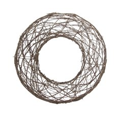 Willow Wreath Natural (45cmDx8cmH)