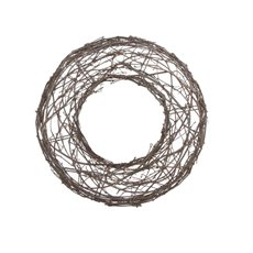 Willow Wreath Natural (36cmDx6.5cmH)