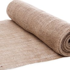 Natural Hessian Jute Wrap - Jute Roll Loose Weave Natural (50cmx10m)
