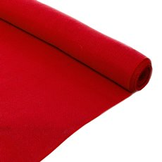 Natural Hessian Jute Wrap - Jute Roll Red (50cmx5m)