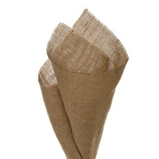 Natural Hessian Jute Wrap - Jute Sheet Coarse Weave Natural (50x70cm) Pack 20