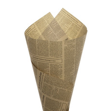 Kraft Paper Newspaper Wrapping 50 Pack Black (50x70cm)