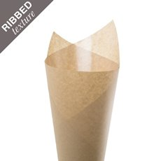 Ribbed Brown Kraft Paper 65gsm Natural 5kg Pack (50x70cm)