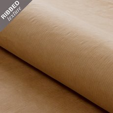 Brown & White Kraft Paper - Brown Kraft Ribbed 70gsm Paper Roll (90cmx300m)