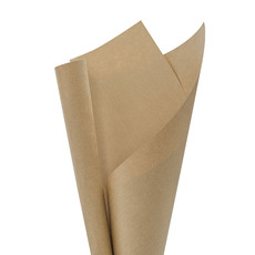 Brown & White Kraft Paper - Brown Kraft Paper Ribbed 70gsm (50x70cm) 5kg Pack 200