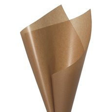 Pot Luck & Art Paper - Wax Paper Brown Kraft 60gsm (50x70cm) Pack 50