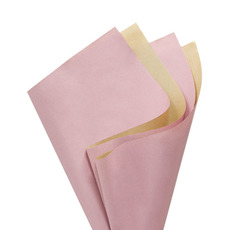 Coloured Kraft Paper - Brown Kraft Paper Coloured DUO 60gsm Dust Pink(53x76cm)Pk100