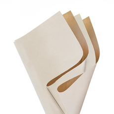 Coloured Kraft Paper - Brown Kraft Paper Coloured DUO 60gsm White (53x76cm)Pack 100