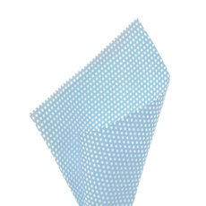 17gsm White Tissue Paper Small Dots 100Pack Baby Blue50x70cm