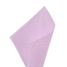 17gsm White Tissue Paper Small Dots 100Pack Lavender 50x70cm