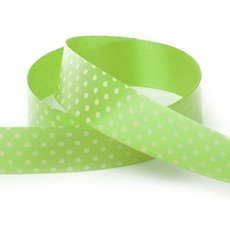 Ribbon Tear Dots 30mmx50m Lime