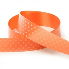 Ribbon Tear Dots 30mmx50m Orange