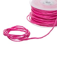 Twisted Paper Cord Hot Pink (4mmx50m)