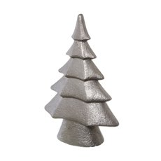 Decorative Christmas Trees - Ceramic Christmas Tree Decoration Champagne (24x37cmH)