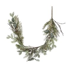 Balmoral Fern Pomegranate Christmas Garland Green (132cm)